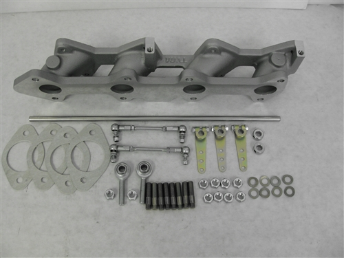 TOYOTA 2TC  3TC INTAKE MANIFOLD and LINKAGE WEBER DCOE CARBURETORS