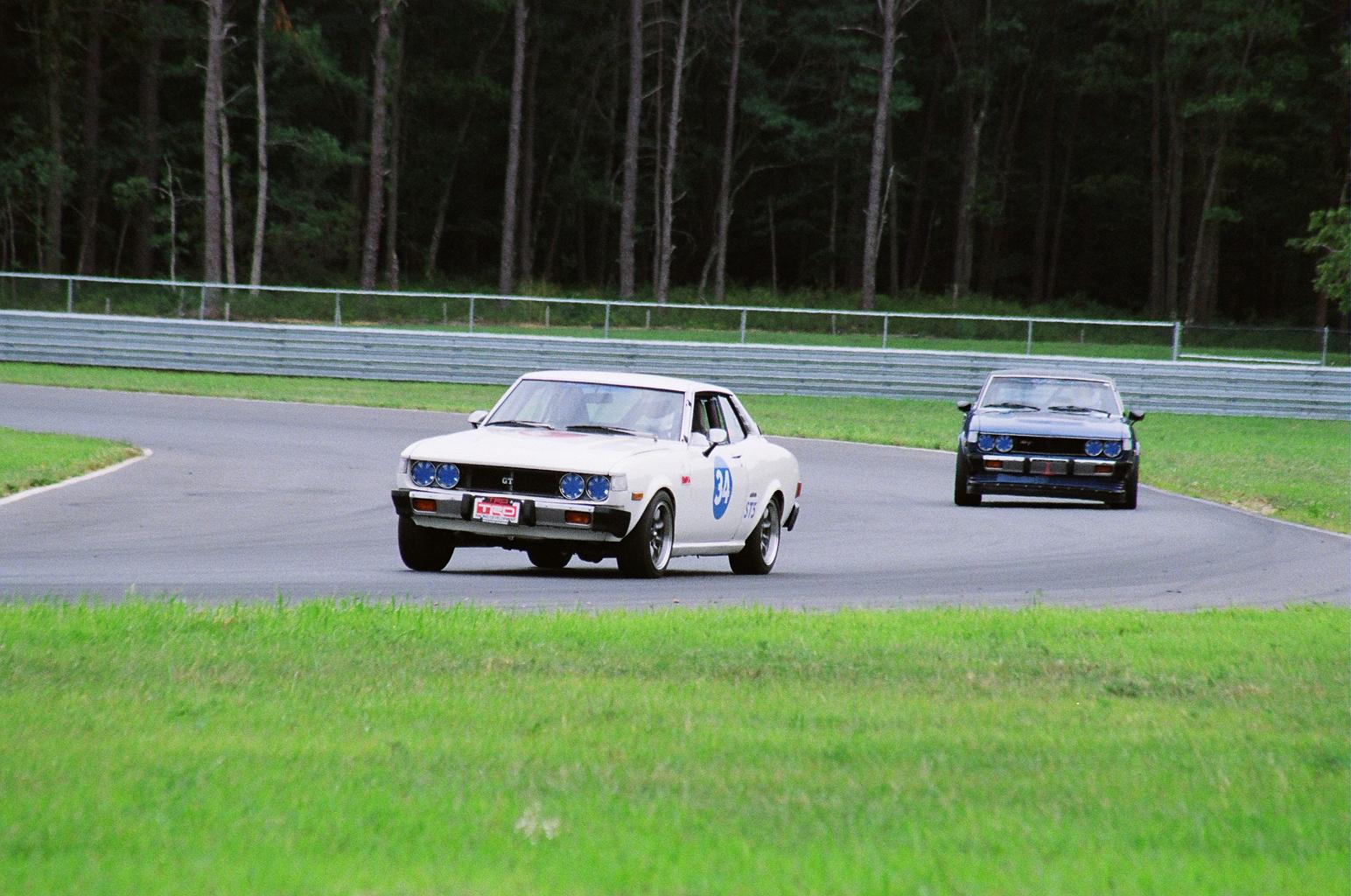 Racing Celicas